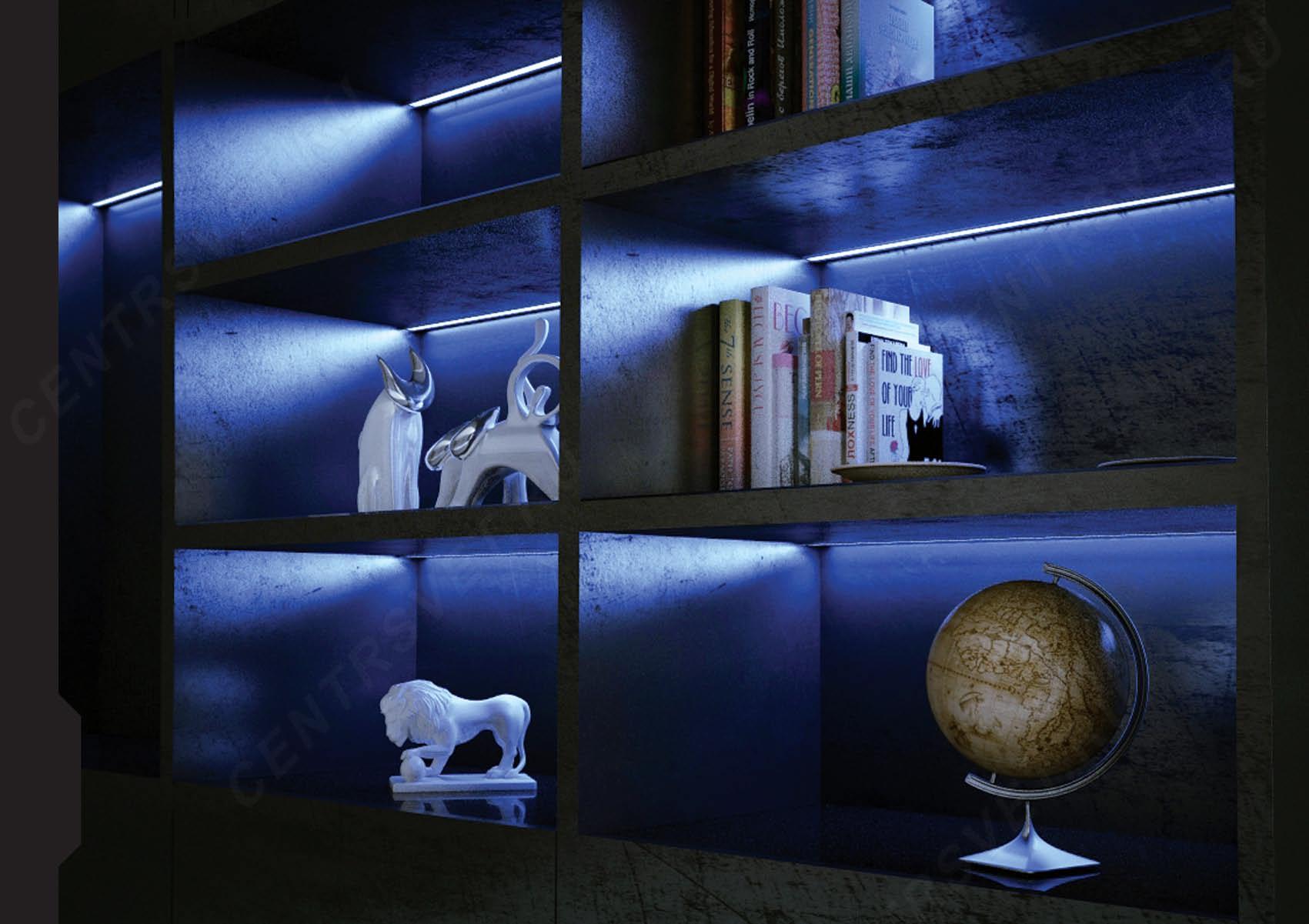 Как сделать подсветку к стенке